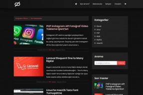divergent 100% SEO Uyumlu Wordpress Blog Teması